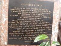 A la Mémoire de André Le Nostre