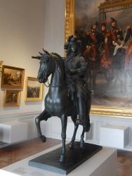 Statue equestre Louis XIV
