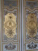 Les deux L de Louis XIV et de Louise de La Vallière