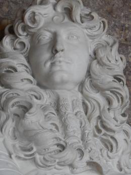 La fameuse buste de Louis XIV crée par Bernini