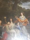 """Peinture """"L'Assemblée des Dieux"""" par Jean Nocret"""