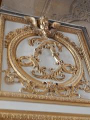 Emblème de Louis XIV et sa femme Louise
