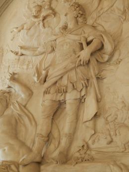 Relief Louis XIV par Antoine Coysevaux