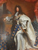 Rigaud, Louis XIV en costume royal