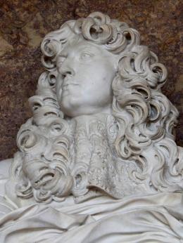 La fameuse buste de Louis XIV