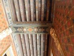 Les plafonds extraordinaires, comparable au Château Royal de Blois