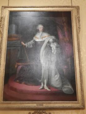 Le Roy Louis XVI, tableau dans les appartements du XVIII siècle