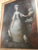 La Reyne Marie Antoinette, tableau dans les appartements du XVIII siècle